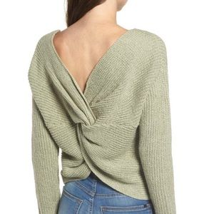 Nordstrom's ASTR Twisted Back Sweater